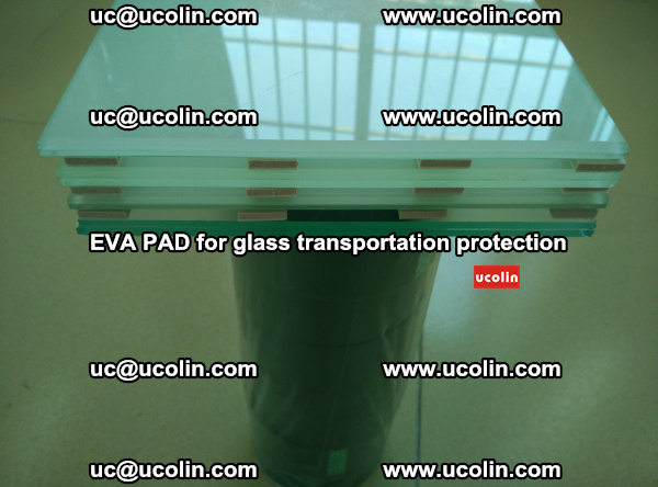 EVA CORK PAD for laminated safety glass transportation protection (2)