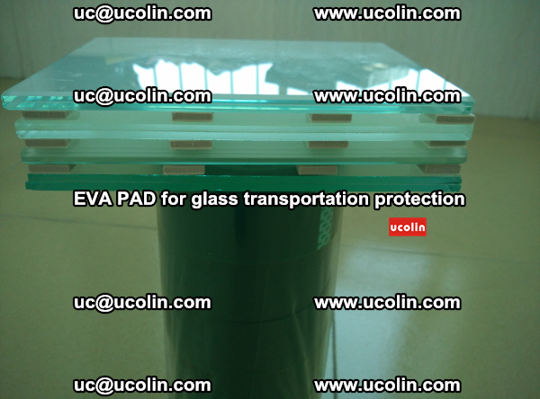 EVA CORK PAD for laminated safety glass transportation protection (20)