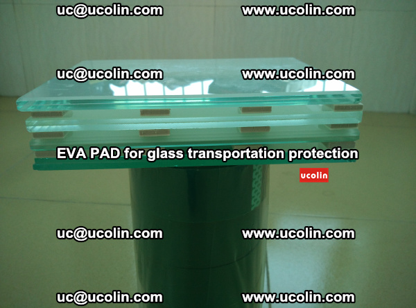 EVA CORK PAD for laminated safety glass transportation protection (26)
