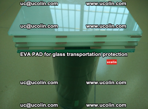 EVA CORK PAD for laminated safety glass transportation protection (3)