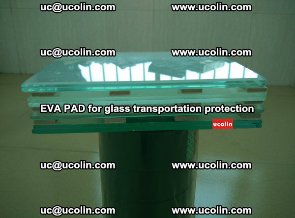 EVA CORK PAD for laminated safety glass transportation protection (32)