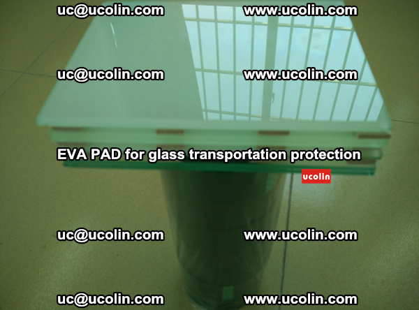 EVA CORK PAD for laminated safety glass transportation protection (45)