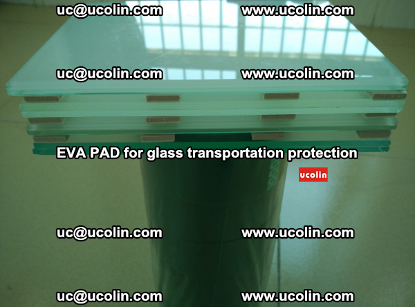 EVA CORK PAD for laminated safety glass transportation protection (7)