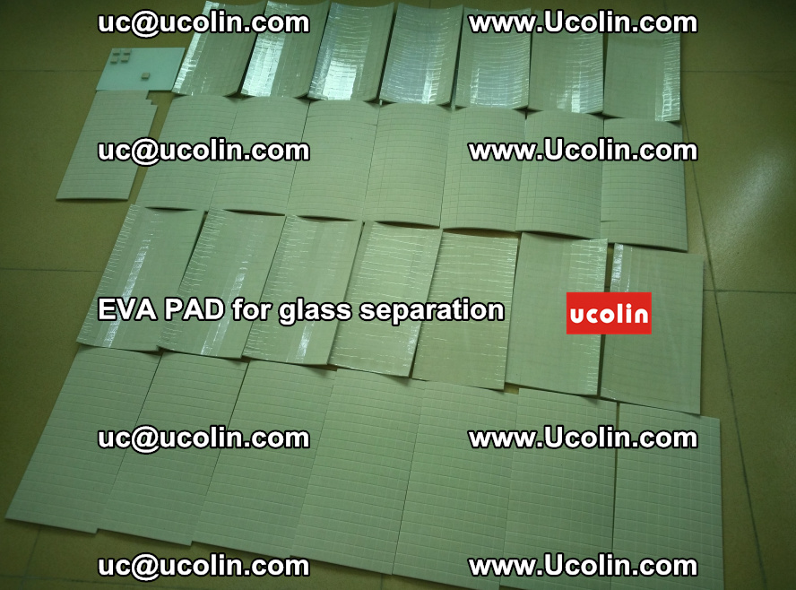 EVA PAD for safety laminated glass separation (45)