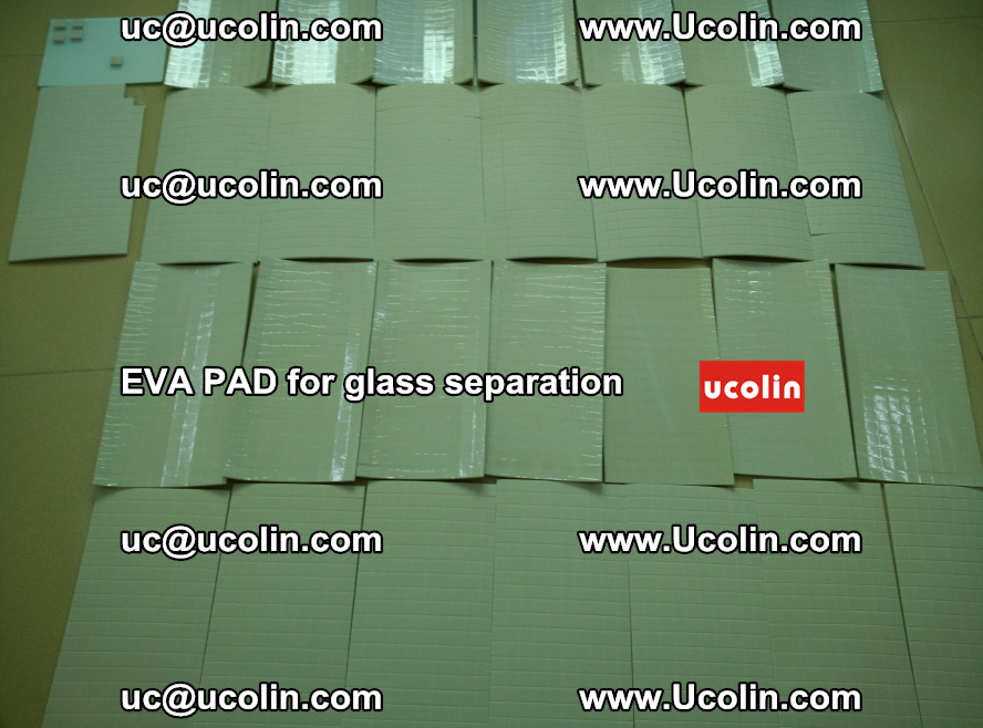 EVA PAD for safety laminated glass separation (50)