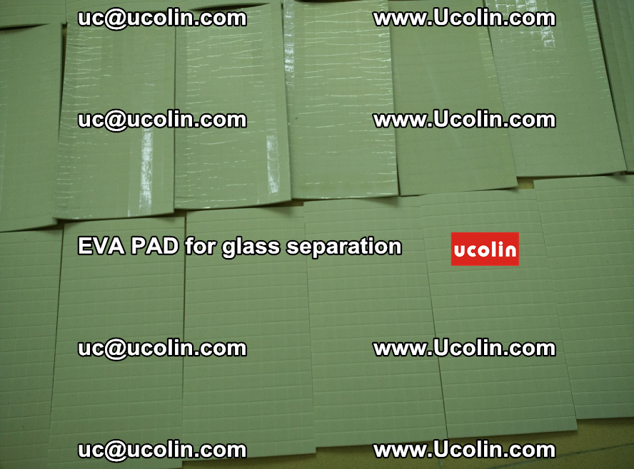 EVA PAD for safety laminated glass separation (54)