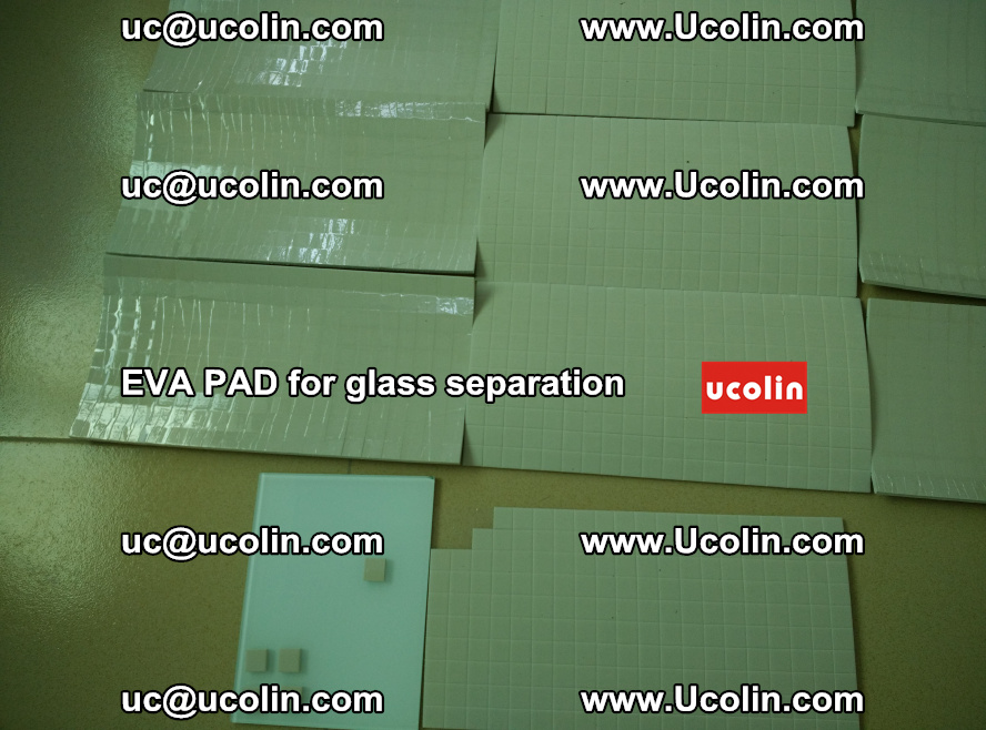 EVA PAD for safety laminated glass separation (65)