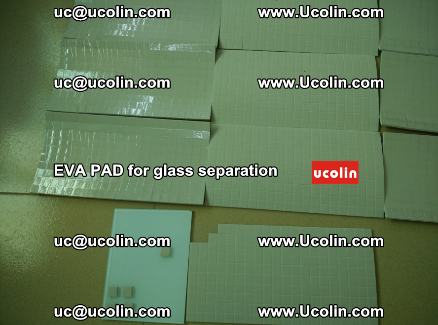 EVA PAD for safety laminated glass separation (66)