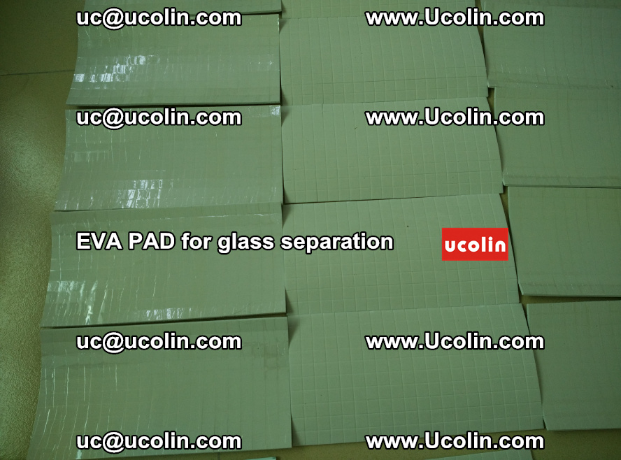 EVA PAD for safety laminated glass separation (67)