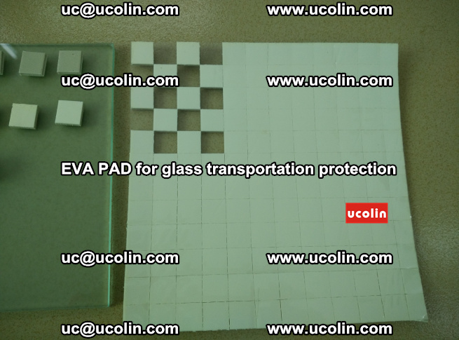 EVA PAD for safety laminated glass transportation protection (1)