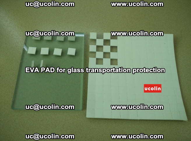 EVA PAD for safety laminated glass transportation protection (10)