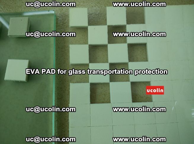EVA PAD for safety laminated glass transportation protection (104)