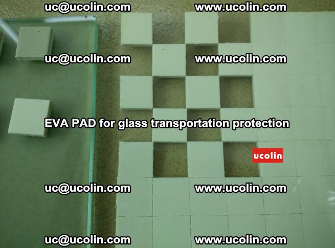 EVA PAD for safety laminated glass transportation protection (110)