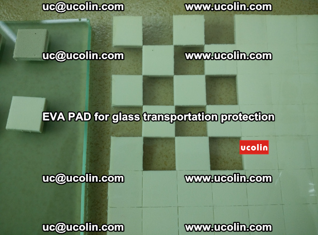 EVA PAD for safety laminated glass transportation protection (111)