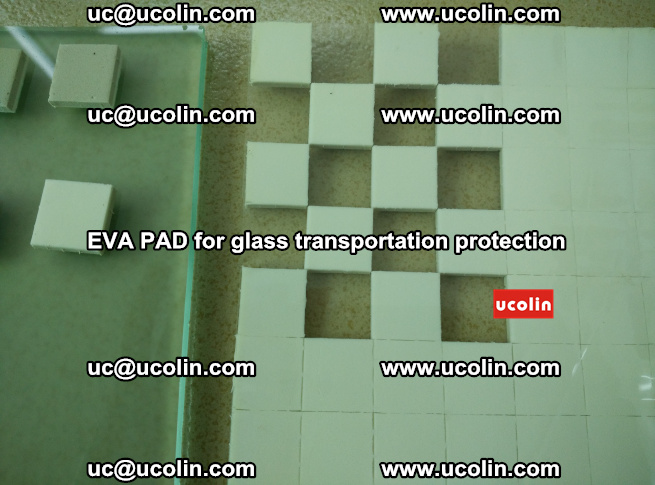 EVA PAD for safety laminated glass transportation protection (114)