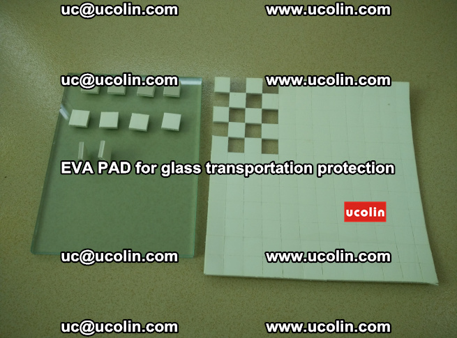 EVA PAD for safety laminated glass transportation protection (12)