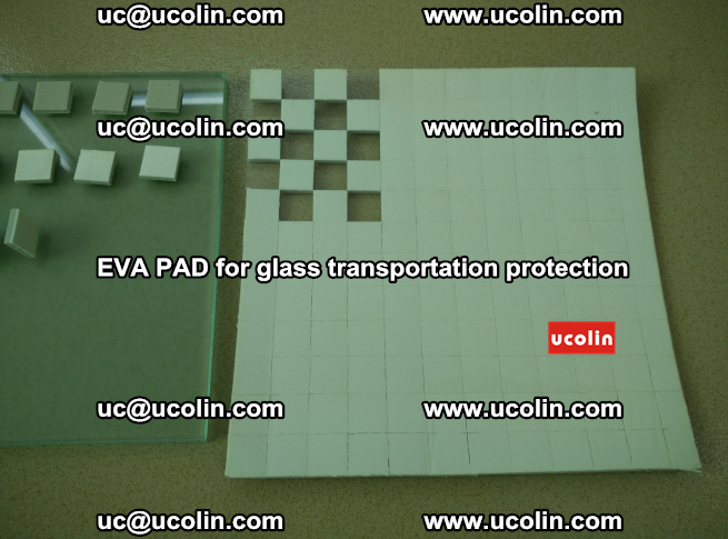 EVA PAD for safety laminated glass transportation protection (24)