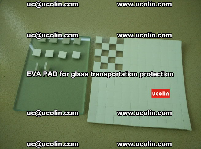 EVA PAD for safety laminated glass transportation protection (3)