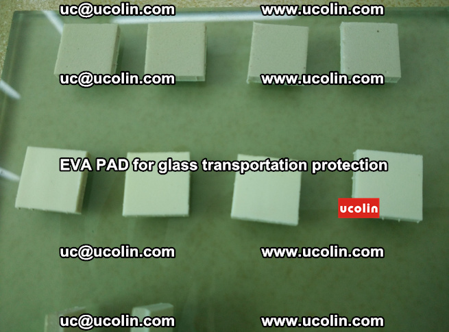 EVA PAD for safety laminated glass transportation protection (57)