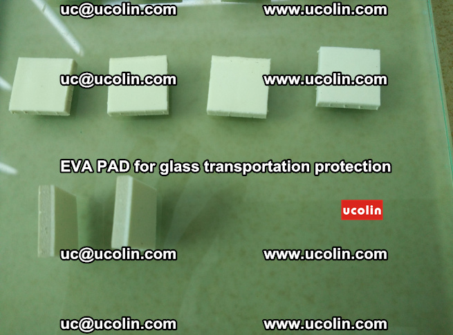EVA PAD for safety laminated glass transportation protection (80)
