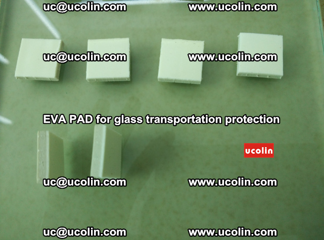 EVA PAD for safety laminated glass transportation protection (85)