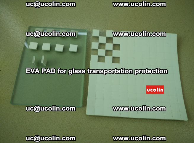 EVA PAD for safety laminated glass transportation protection (9)