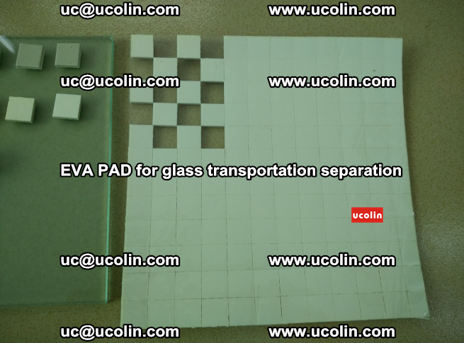 EVA PAD for safety laminated glass transportation separation (1)