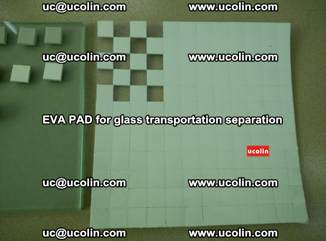 EVA PAD for safety laminated glass transportation separation (11)