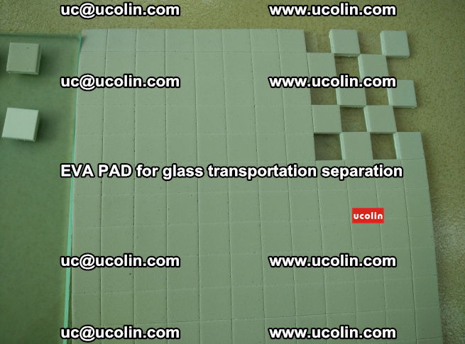 EVA PAD for safety laminated glass transportation separation (20)