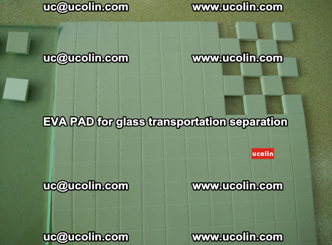 EVA PAD for safety laminated glass transportation separation (25)