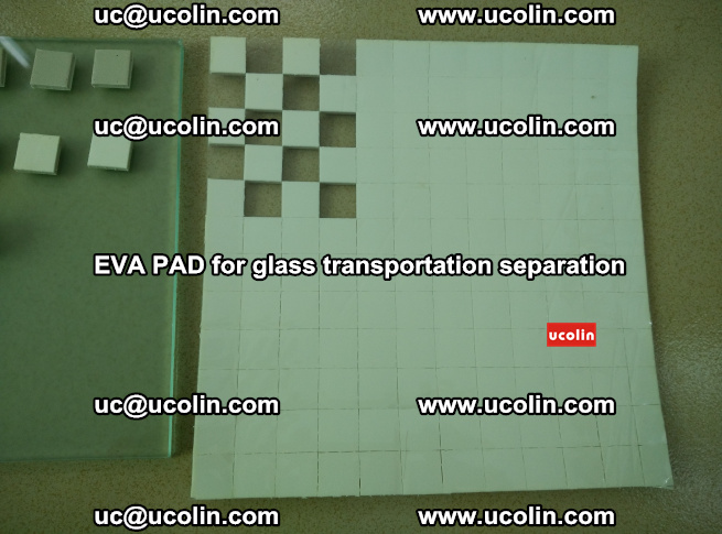EVA PAD for safety laminated glass transportation separation (3)