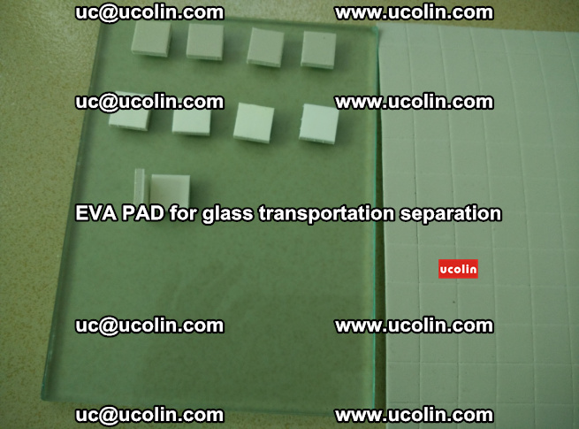 EVA PAD for safety laminated glass transportation separation (30)