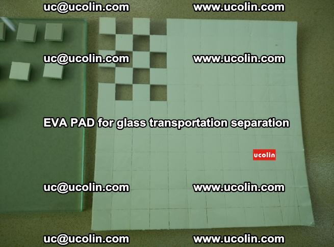 EVA PAD for safety laminated glass transportation separation (4)