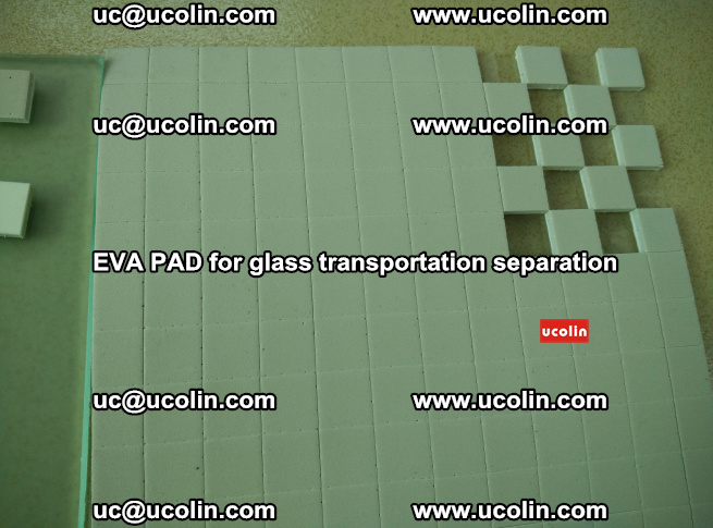 EVA PAD for safety laminated glass transportation separation (46)