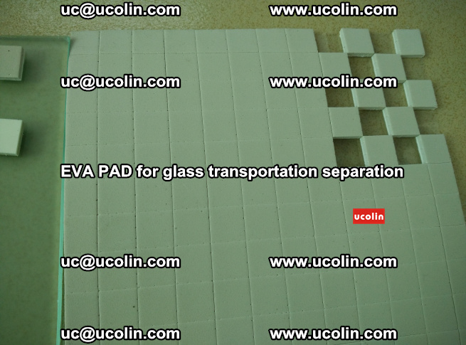 EVA PAD for safety laminated glass transportation separation (48)