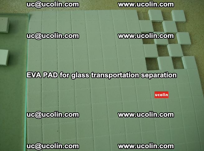 EVA PAD for safety laminated glass transportation separation (49)