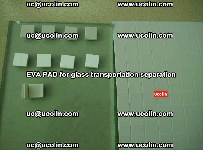 EVA PAD for safety laminated glass transportation separation (51)