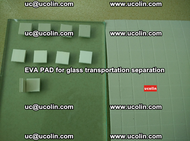 EVA PAD for safety laminated glass transportation separation (52)