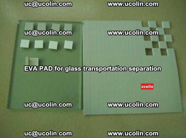 EVA PAD for safety laminated glass transportation separation (54)