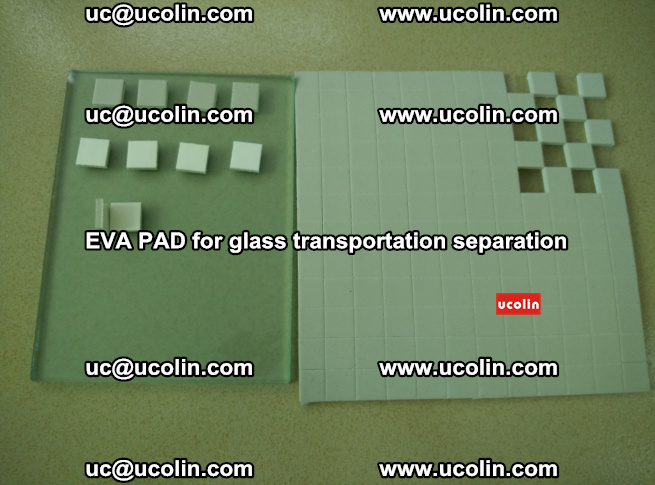 EVA PAD for safety laminated glass transportation separation (55)