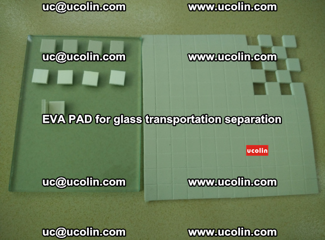 EVA PAD for safety laminated glass transportation separation (57)