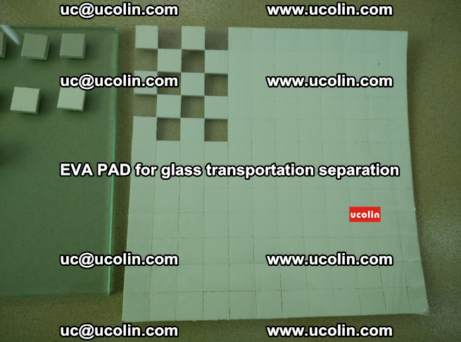 EVA PAD for safety laminated glass transportation separation (6)
