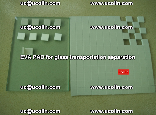 EVA PAD for safety laminated glass transportation separation (60)