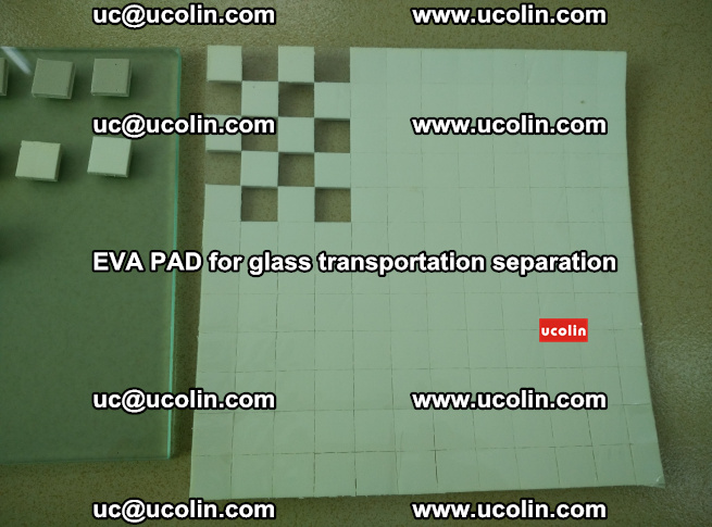 EVA PAD for safety laminated glass transportation separation (9)