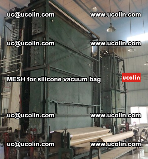 MESH for silicone vacuum bag in laminated safety glazing (1)