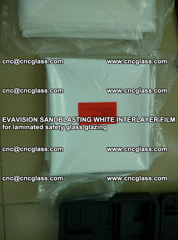 EVAVISION SANDBLASTING WHITE INTERLAYER FILM for laminated safety glass glazing (11)