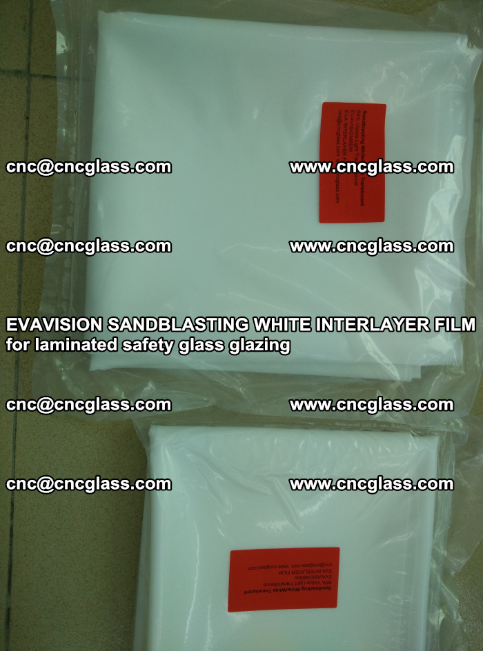 EVAVISION SANDBLASTING WHITE INTERLAYER FILM for laminated safety glass glazing (16)