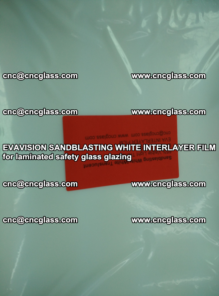 EVAVISION SANDBLASTING WHITE INTERLAYER FILM for laminated safety glass glazing (18)