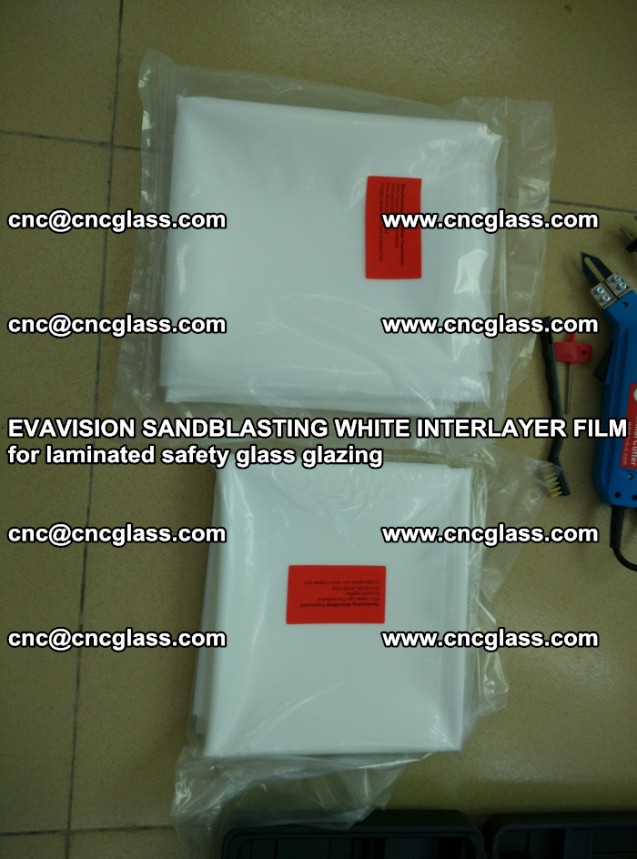 EVAVISION SANDBLASTING WHITE INTERLAYER FILM for laminated safety glass glazing (23)