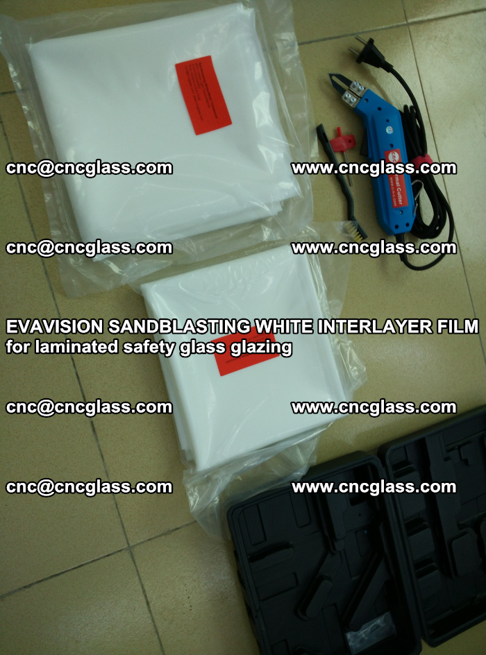 EVAVISION SANDBLASTING WHITE INTERLAYER FILM for laminated safety glass glazing (28)